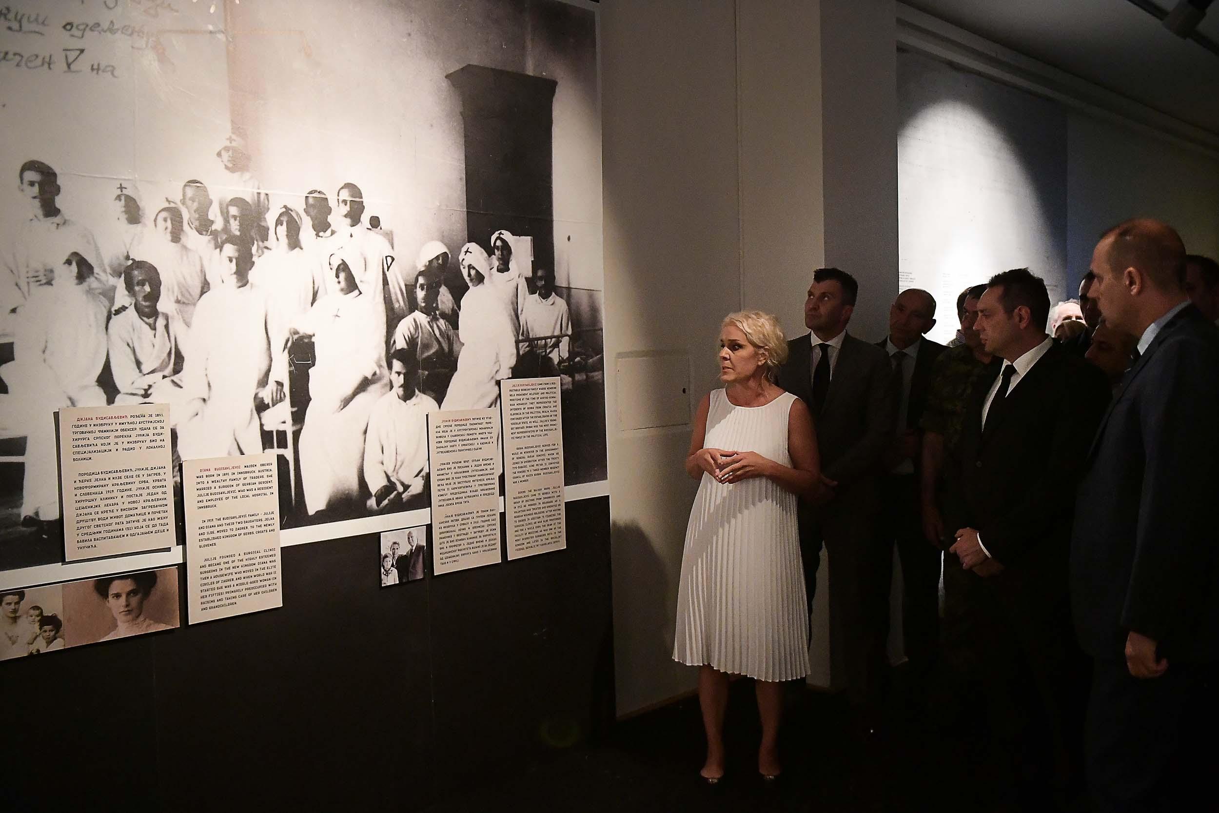 Отворена изложба о Дијани Будисављевић