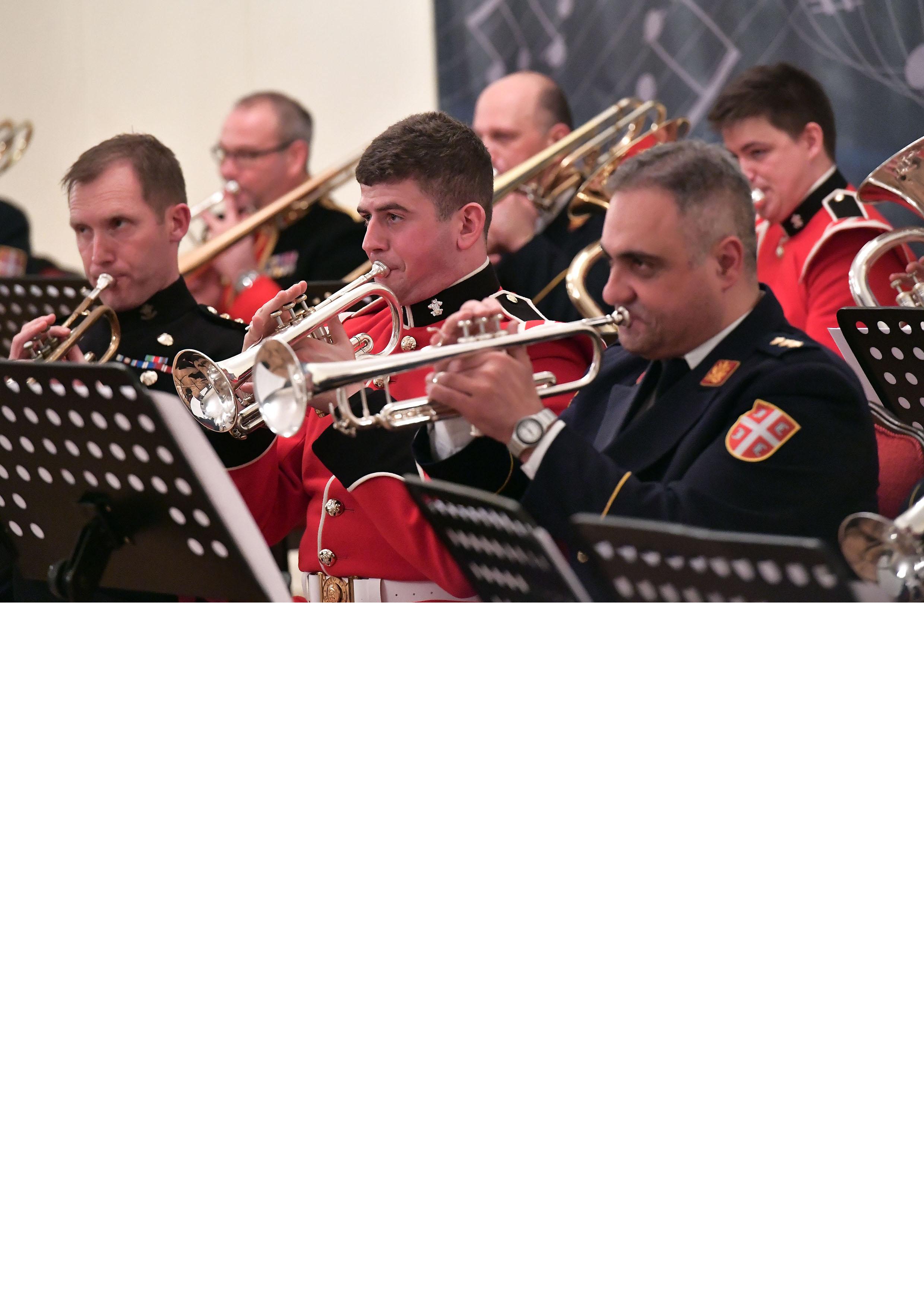 """ПОЛИТИКА -У Дому војске """"Бинички"""" са Оркестром дивизије Принца од Велса"""