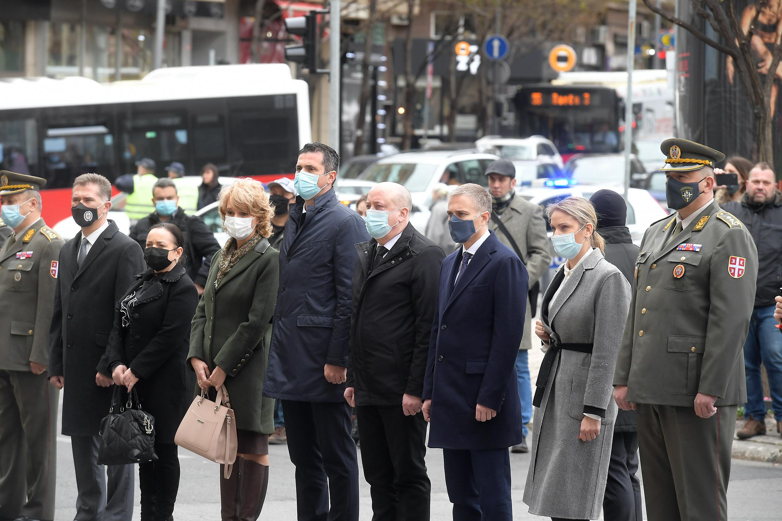"""Министар Стефановић отворио изложбу """"Април 41"""""""